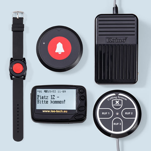 Lee-Tech Easy Call 100 Rufanlage Pager